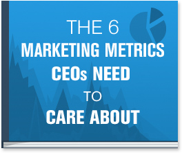 The 6 Marketing Metrics CEOs Need To Care About cheat sheet cuts through the unfocused metrics and guides you through 6 marketing metrics you need to be focusing on.