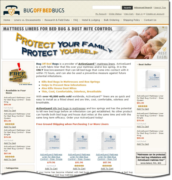 bug off bed bugs ecommerce case study resized 600
