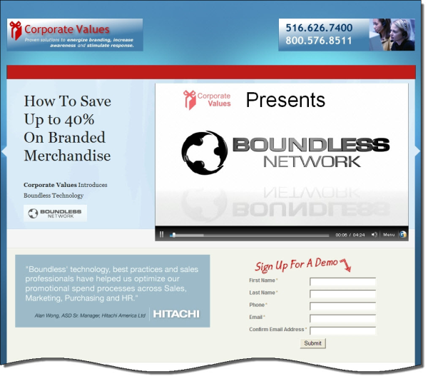 corporate values video marketing landing page resized 600