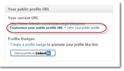 how to get public linkedin url