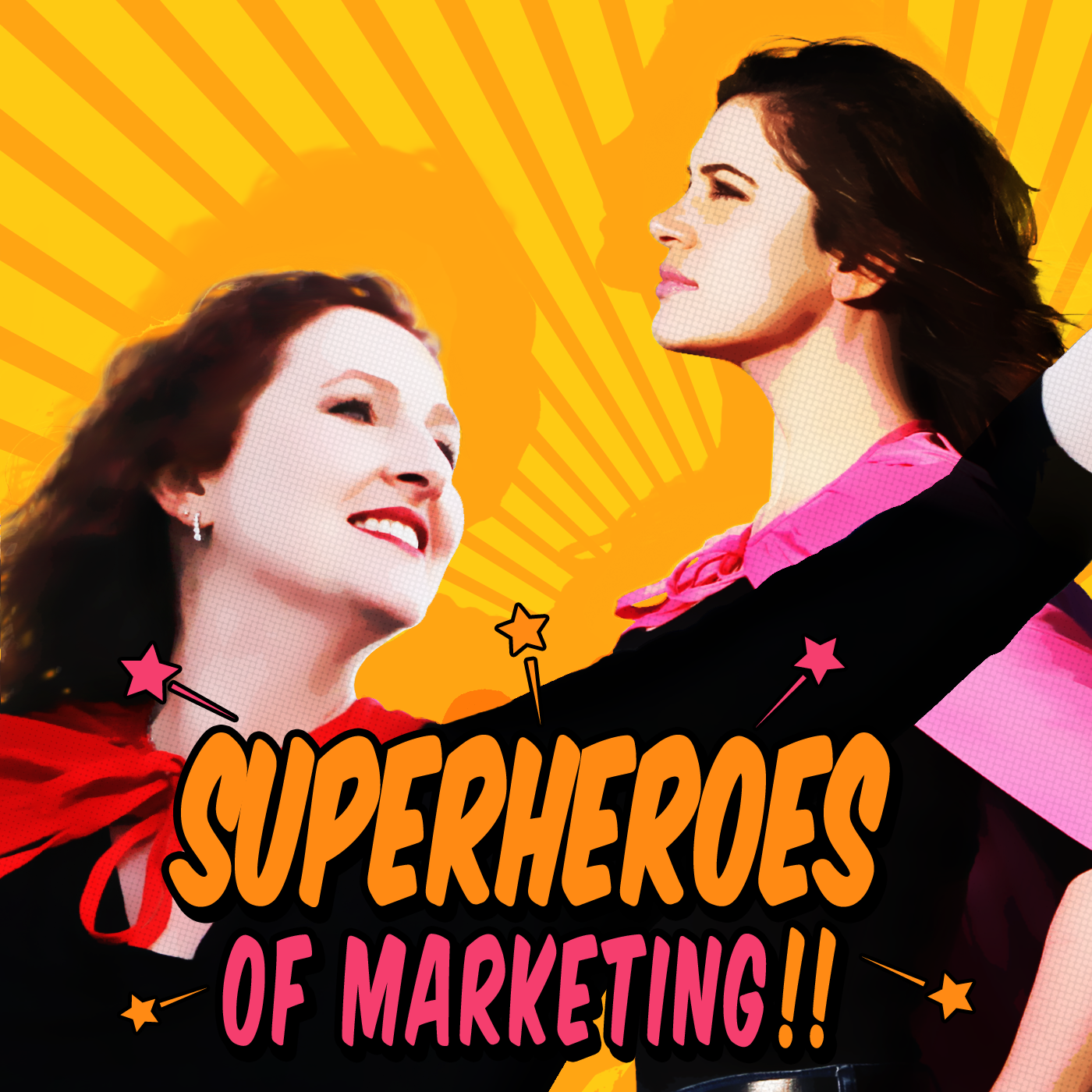 The Superheroes of Marketing Podcast | Content Marketing | Lead Generation | Social Media Marketing