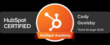 cody-goolsby-hubspot-certified-badge