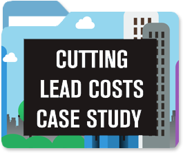 Learn how a company cut lead acquisition costs from $600 per lead to $31 using inbound marketing in this B2C case study.