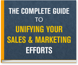 The key to growing your business is guiding your sales and marketing team down the same path and encouraging them to work together. Unify Your Sales and Marketing Efforts!