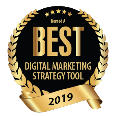 Voted a best digital marketing strategy tool