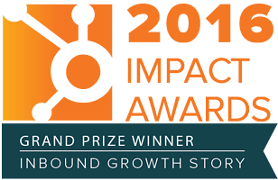 OverGo Studio is a HubSpot Impact Awards Winner for Inbound Growth Story