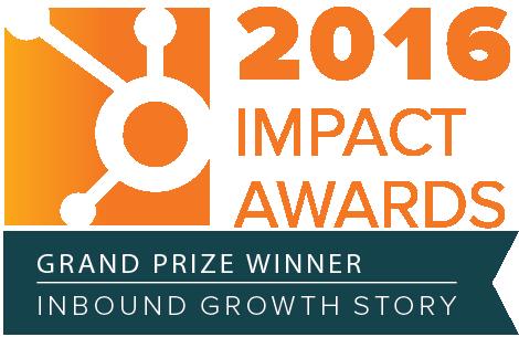 2016 HubSpot Impact Awards Badge