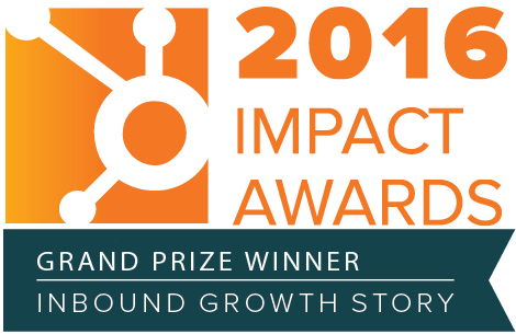 2016 HubSpot Impact Awards Badge