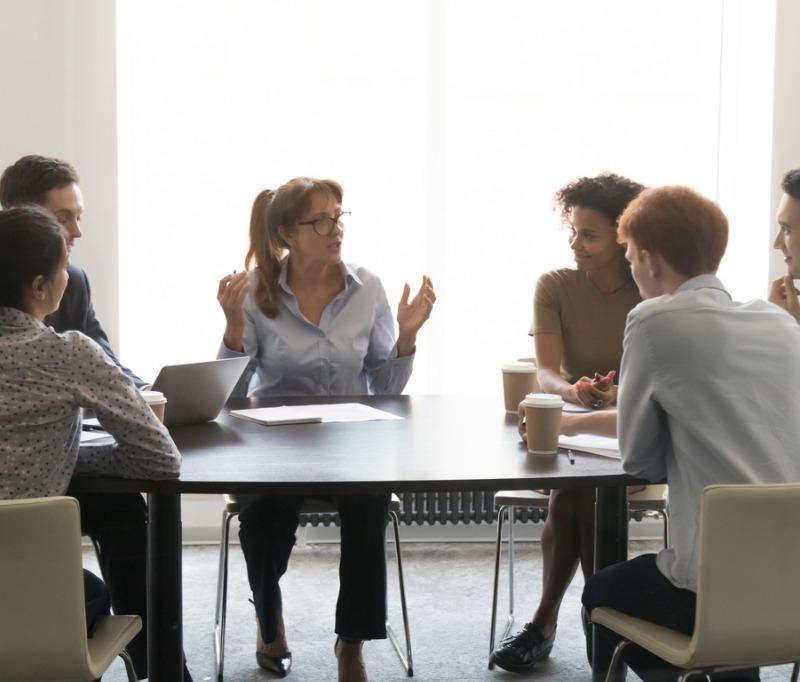 Sales Team Meeting (Communications)