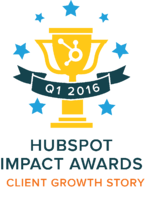 Q1 HubSpot Impact Awards Client Growth Story