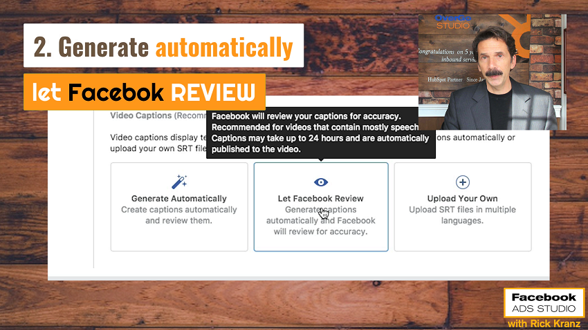 generate captions facebook video ads facebook reviews
