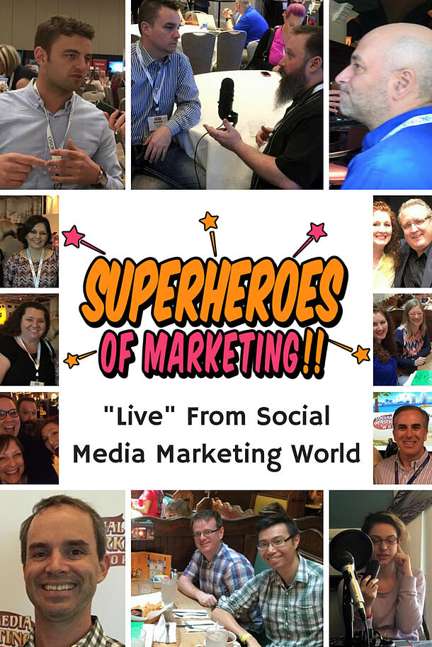 Live from Social Media Marketing World - Sort of! Interviews with Attendees http://www.overgovideo.com/superheroes-of-marketing-podcast/live-from-social-media-marketing-world with @alisammeredith