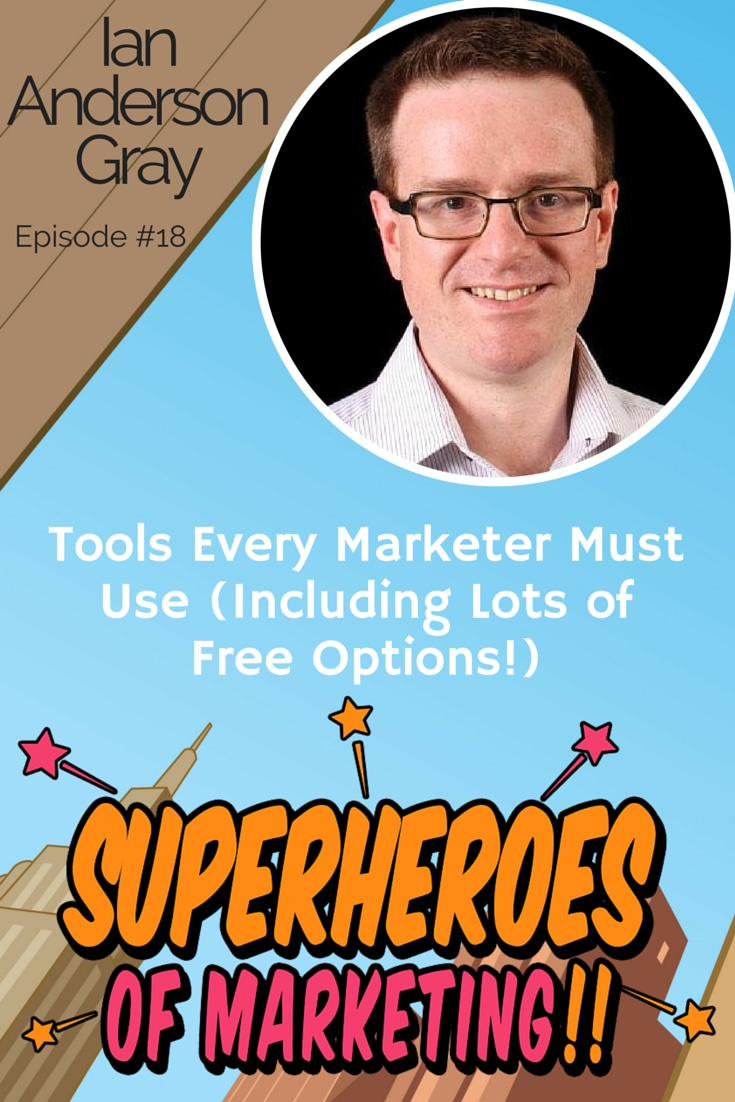 The Six Marketing Tools Every Business Must Use - Ian Anderson Gray #18 http://www.overgovideo.com/superheroes-of-marketing-podcast/must-have-marketing-tools-ian-anderson-gray
