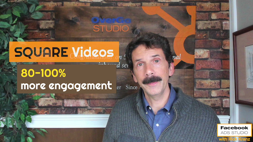 square video for facebook advertising marketing more engagement