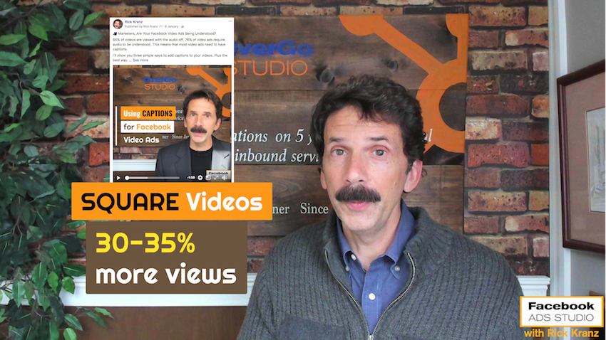 square video for facebook advertising marketing more views