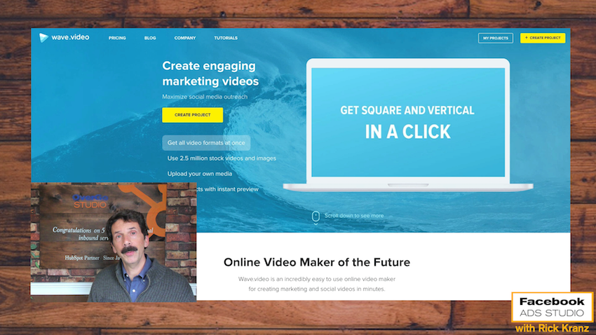 square video format for facebook advertising marketing