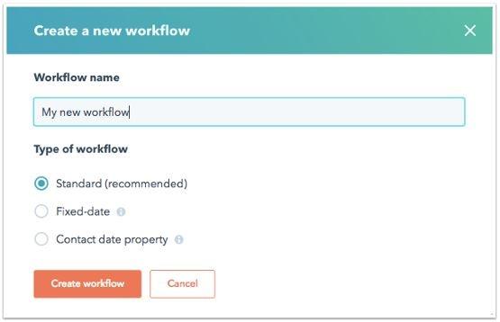 HS Workflow Type