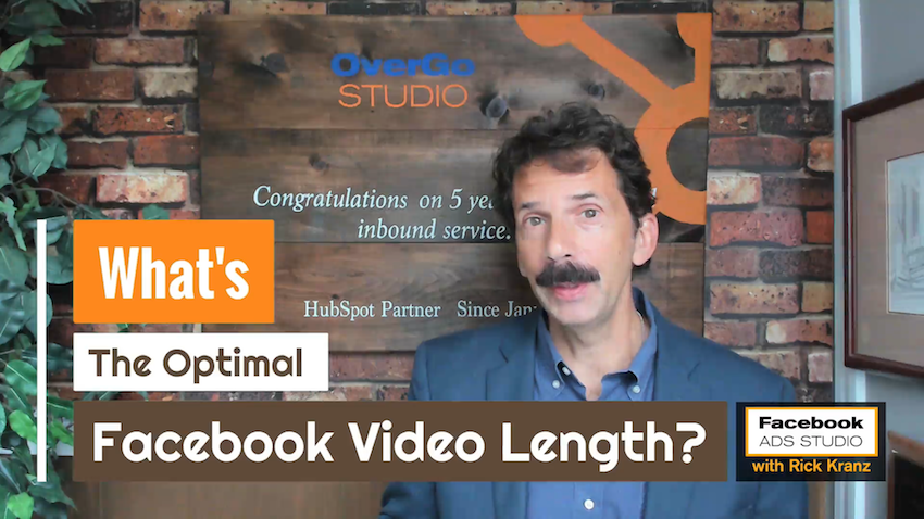 What's the Optimal Facebook Video Length